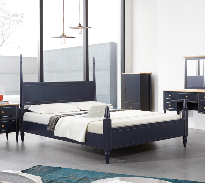 벨리제 고무나무 원목 침대 프레임  퀸(Q) / 월 33,800원