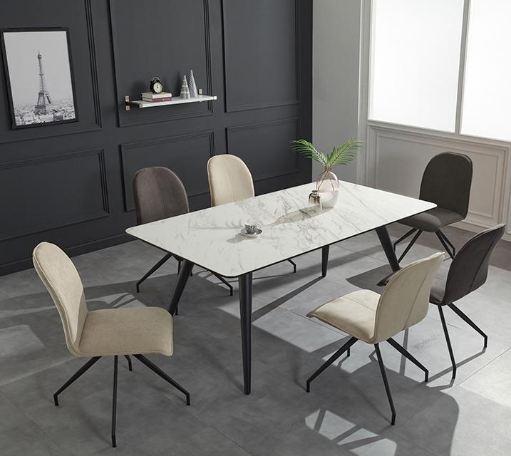 로자 천연 세라믹 4인용 식탁 테이블 [의자 미포함] /월35,800원