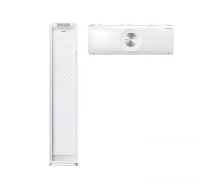 [L] 위니아 에어컨 스탠드17평+벽걸이 7평 화이트 WPVS17CWEGM  월 41,900원