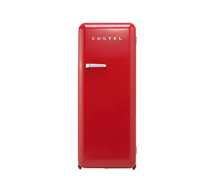 [L] 코스텔 냉장고 281L 레드 CRS-281HARD / 월 30,900원