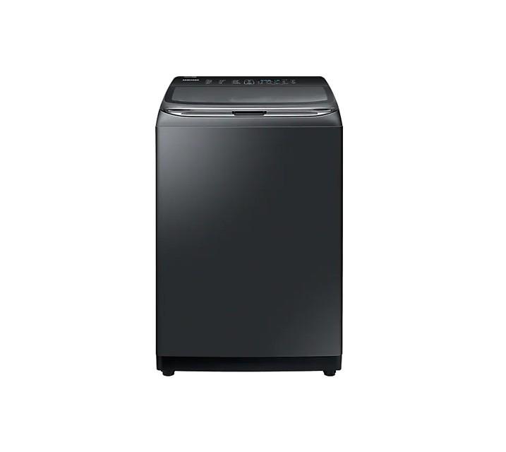 [L] 삼성 전자동 세탁기 18 kg 블랙 케비어 WA18T7650KV / 월16,500원