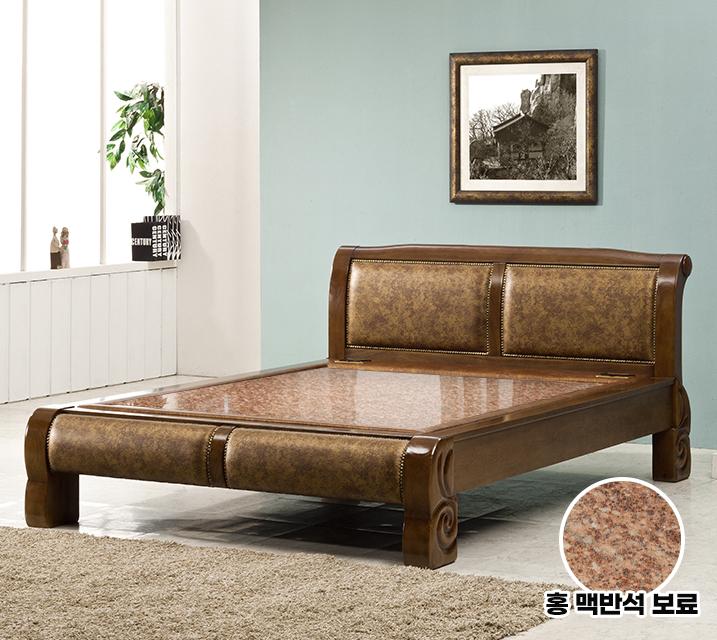 수련 Q 돌 흙침대 (온수형 홍맥반석보료) / 월 85,800원