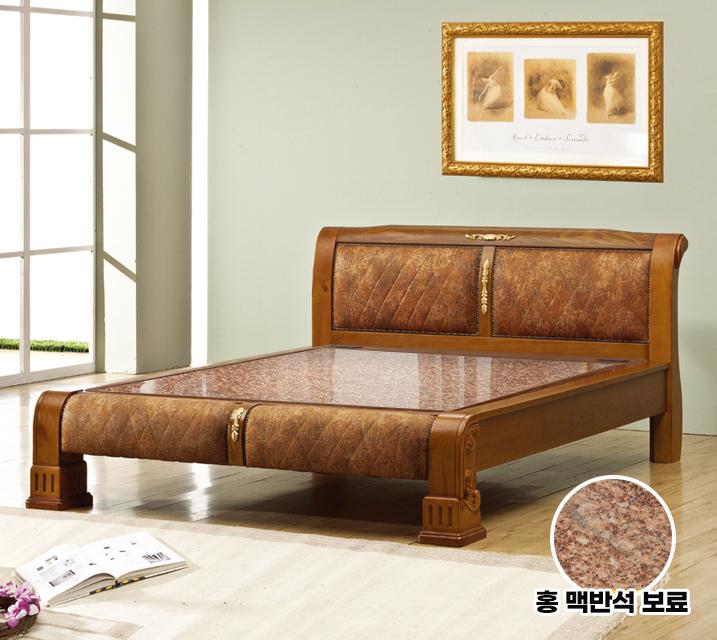 아란 Q 돌 흙침대 (홍맥반석 보료) / 월 59,800원