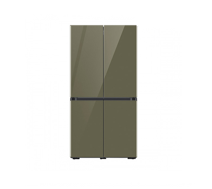 [L] 삼성 냉장고 4도어 비스포크 양문형 871L 글램올리브 RF85T901344 / 월 58,700원