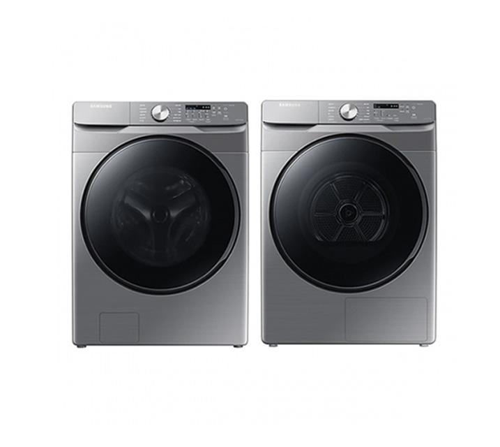 [L] 삼성 그랑데 드럼 세탁기 21kg+ 건조기 16kg 세트 WF21T6000KP(P) / 월56,300원