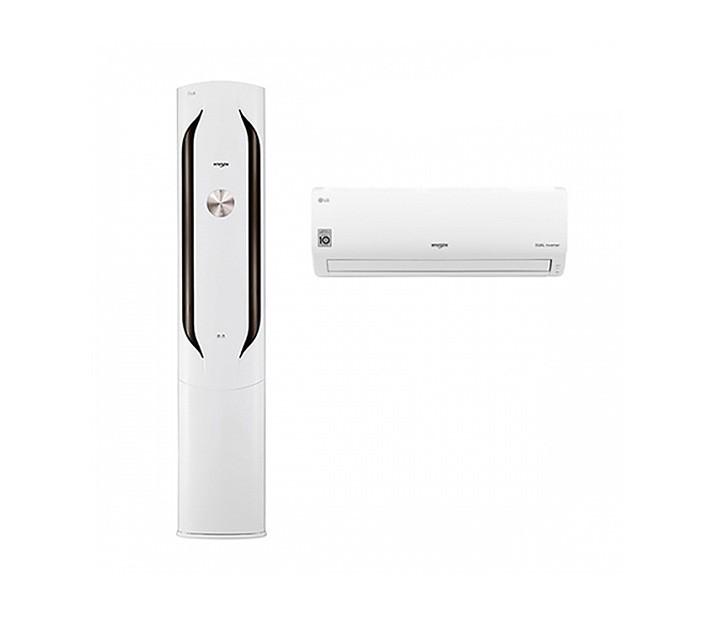 [L] LG  에어컨 휘센 스탠드형 20평 +7평 화이트 FQ20VAWWT2/ 월 64,900원