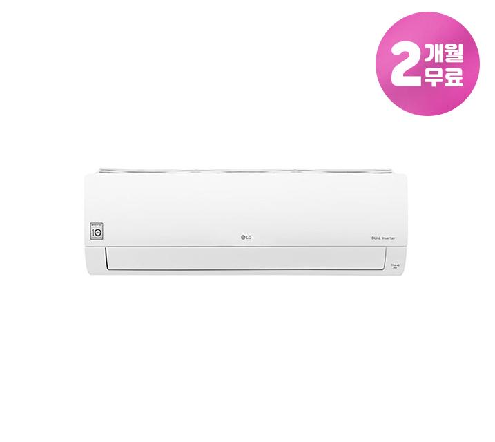 [L] LG 휘센 벽걸이 냉난방 에어컨 11평형 SQ11BAKWAS / 월30,900원