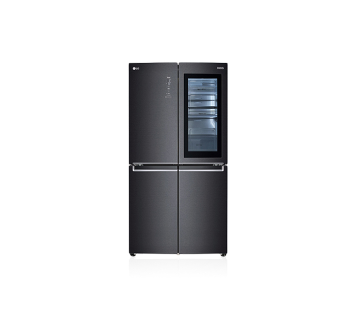 [S] LG 디오스 노크온 매직스페이스 냉장고 맨해튼 미드나잇 870L F873MT95E / 월107,000원