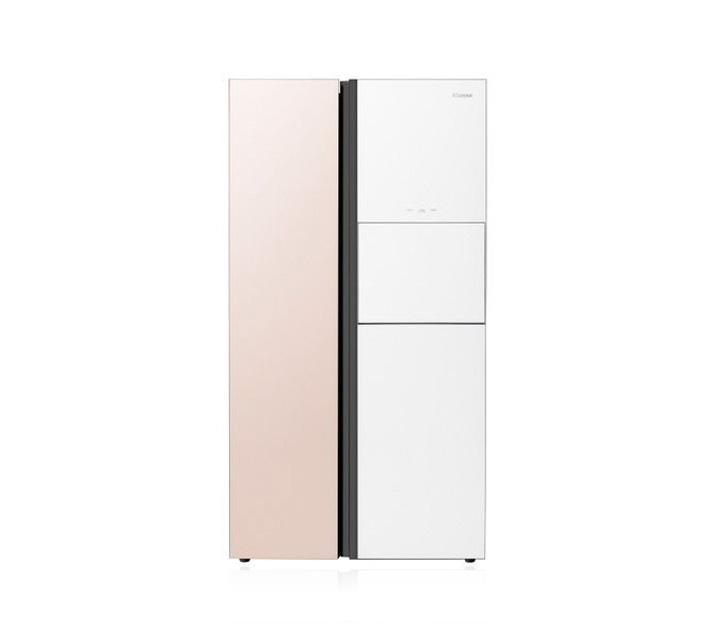 [L] 위니아 냉장고 2도어 834L 솔리드핑크&화이트 WKR83DSJPW / 월 46,100원