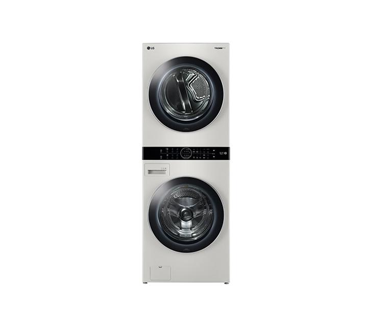 [L] LG 워시타워 세탁기(21kg)+건조기(16kg) 샌드베이직 W16ET / 월109,000원