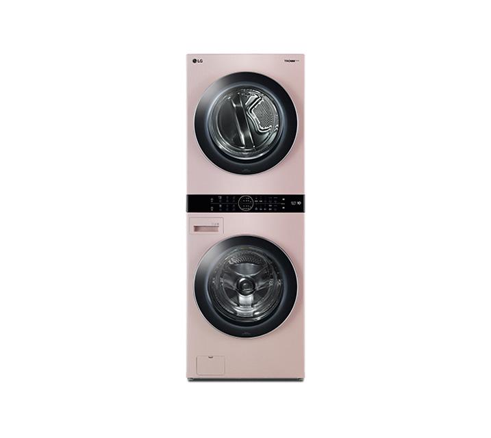 [L] LG 워시타워 세탁기(21kg)+건조기(16kg) 코랄핑크 W16PT / 월108,400원