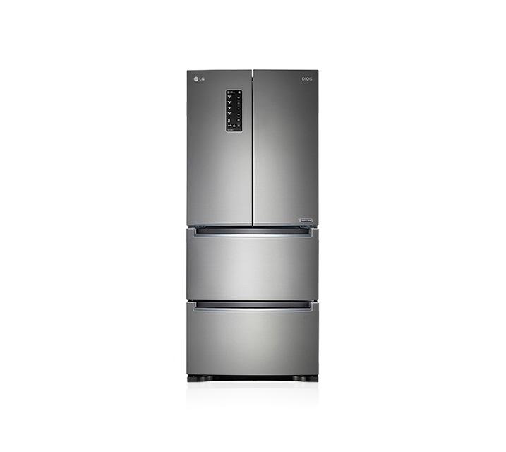 [L] LG 전자 디오스 김치톡톡 4도어 김치냉장고 실버 402L K410S19E  / 월51,900원