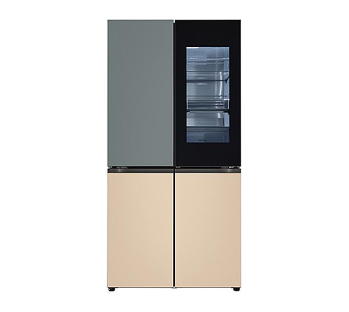 [S] LG 오브제컬렉션 노크온 매직스페이스 냉장고 870L 보타닉 샌드 M870FBS451 / 월 147,000원