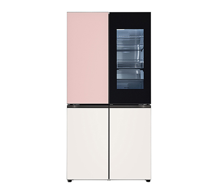 [S] LG 오브제컬렉션 노크온 매직스페이스 냉장고 870L 핑크베이지 M870GPB451 / 월 120,000원