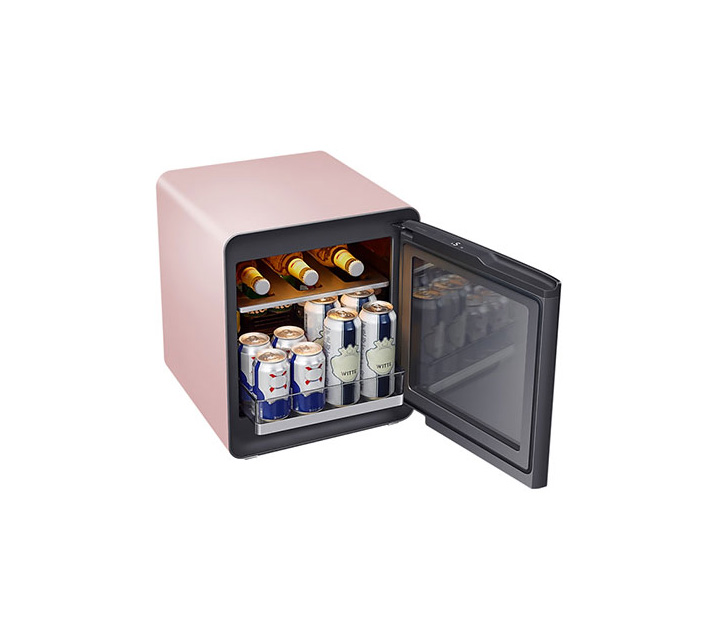 [S] 삼성 비스포크 큐브냉장고 25L+멀티 수납존 프라임핑크 CRS25T9500PSM  / 월17,000원