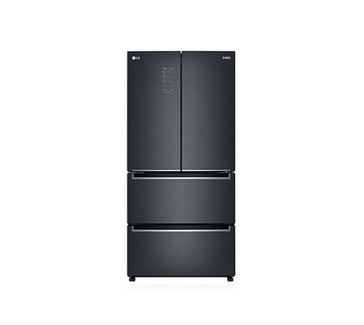 [S] LG 디오스 김치톡톡 4도어 김치냉장고 505L 맨해튼 미드나잇 K510MC18 / 월75,000원