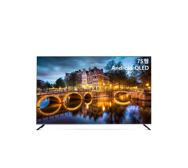 [S] 안드로이드 QLED TV 75인치 IPS 스탠드형 U751QLED IPS_ST / 월45,500원