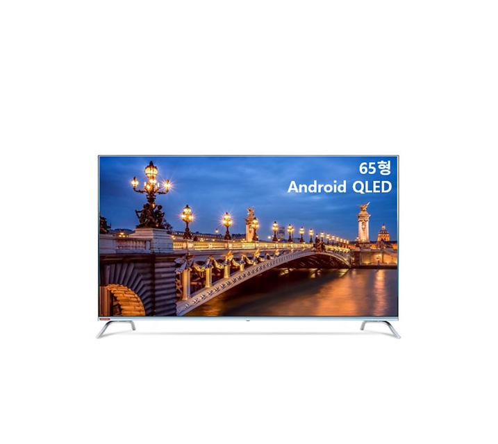 [S] 안드로이드 QLED TV 65인치 VA RGB 스탠드형 U651QLED VA_ST / 월25,000원