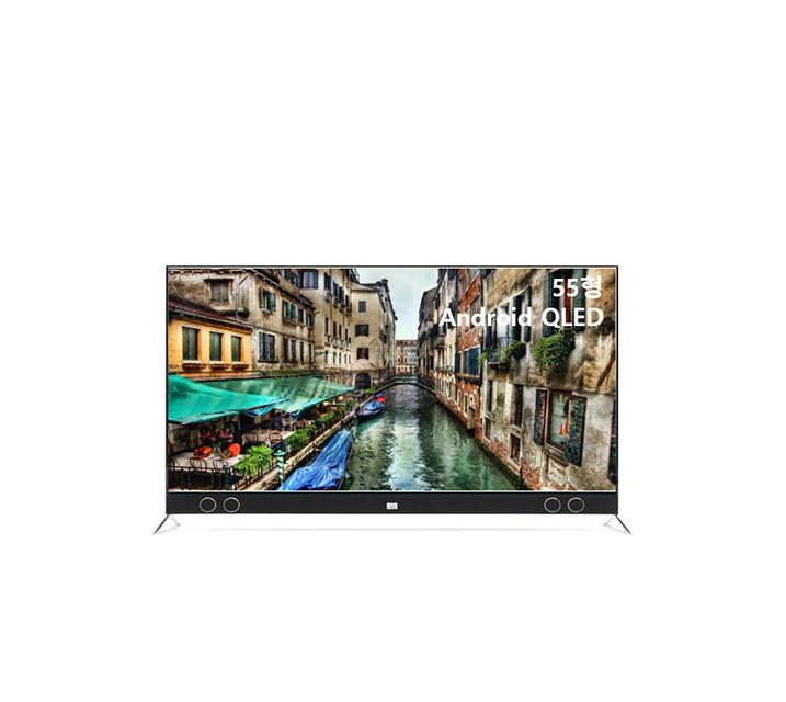 [S] 안드로이드 QLED TV 55인치 VA RGB 스탠드형 U553QLED VA_ST / 월19,500원
