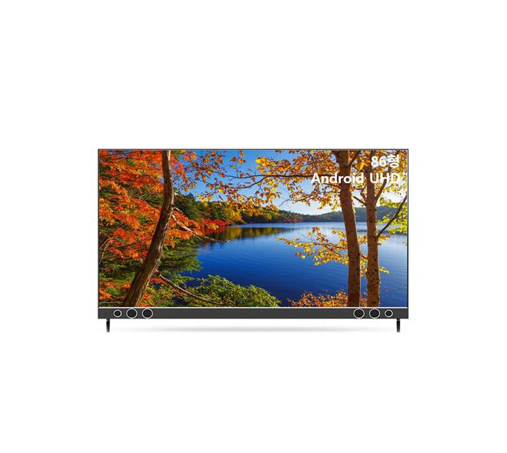 [S] 안드로이드 UHD TV 86인치 IPS 벽걸이형 U863UHD IPS_WA / 월70,900원