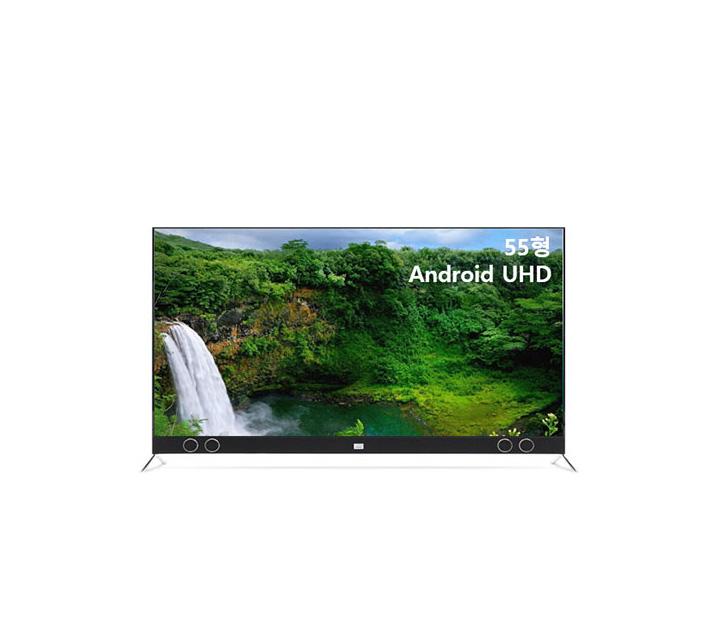 [S] 안드로이드 UHD TV 55인치 VA RGB 스탠드형 U553UHD VA_ST / 월16,500원