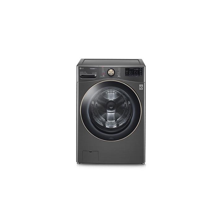 [S] LG전자 트롬 ThinQ 세탁기 24kg 블랙 스테인리스 F24KDGD / 47,500원