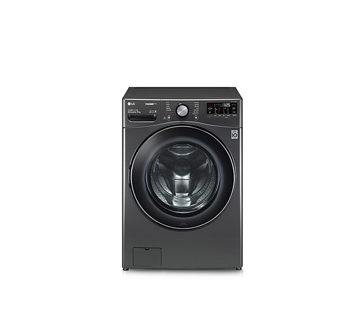 [S] LG전자 트롬 ThinQ 세탁기 21kg 블랙 스테인리스 F21KDD / 44,500원