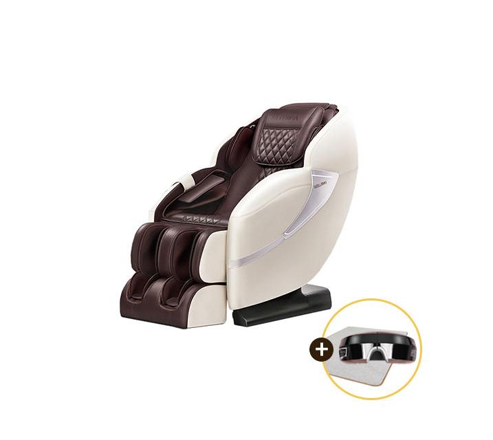 [L] 웰모아 안마의자 에비스 HCW-6400 (눈마사지기+러그 증정)  / 월44,000원